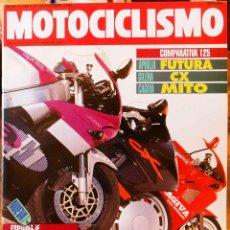 Coches y Motocicletas: MOTOCICLISMO #1239 21/11/91. BUEN ESTADO. Lote 227226610