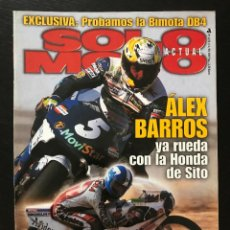Coches y Motocicletas: SOLO MOTO Nº 1178 - RICARDO TORMO HONDA CBR 600 F SUZUKI GSX R BIMOTA DB4 ALEX BARROS DAKAR. Lote 245709880