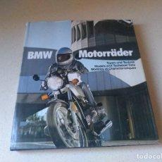 Coches y Motocicletas: LIBRO BMW MOTORRÄDER. AÑO 1976. Lote 229311885