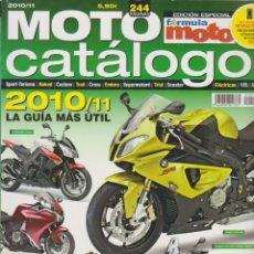 Coches y Motocicletas: MOTO CATÁLOGO 2010/2011 #10. Lote 232928860