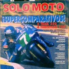 Coches y Motocicletas: SOLO MOTO 30 #78 8/89. BUEN ESTADO. Lote 233127320