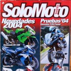 Coches y Motocicletas: SOLO MOTO 30 #248 10/03. BUEN ESTADO. Lote 233129055