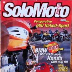 Coches y Motocicletas: SOLO MOTO 30 #228 2/02. MUY BUEN ESTADO. Lote 233337715