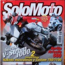 Coches y Motocicletas: SOLO MOTO 30 #230 4/02. MUY BUEN ESTADO. Lote 233337795