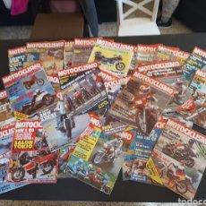 Coches y Motocicletas: REVISTA MOTOCICLISMO LOTE DE 33 REVISTAS AÑO 1983. Lote 235452835