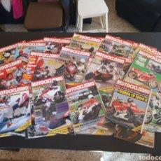 Coches y Motocicletas: REVISTA MOTOCICLISMO LOTE DE 36 REVISTAS AÑO 1984. Lote 235454535