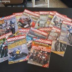 Coches y Motocicletas: REVISTA MOTOCICLISMO LOTE DE 15 REVISTAS AÑO 1985. Lote 235455950
