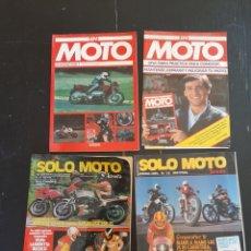 Coches y Motocicletas: REVISTA SOLO MOTO TREINTA Y EN MOTO. Lote 235457075