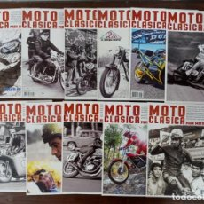 Coches y Motocicletas: LOTE 11 NUMEROS REVISTA 'MOTO CLASICA' - NUEVAS. Lote 235552165