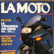 Coches y Motocicletas: REVISTA LA MOTO NÚMERO 1 MAYO 1990. Lote 236173745