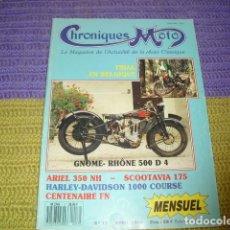 Coches y Motocicletas: CRONIQUES MOTO - 1990 -. Lote 236192490