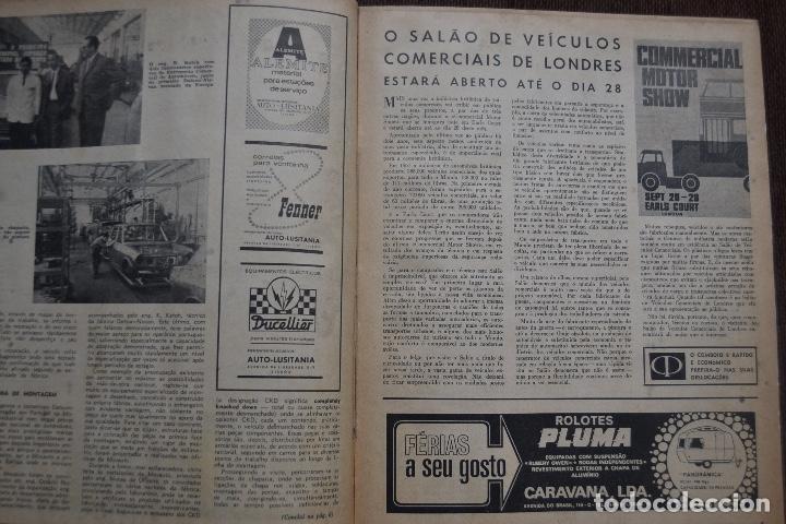 Coches y Motocicletas: 1968 Nº 263 REVISTA MUNDO MOTORIZADO - FIAT 850 SPECIAL - SALON AUTOMOVIL DE LONDRES - Foto 2 - 236391255