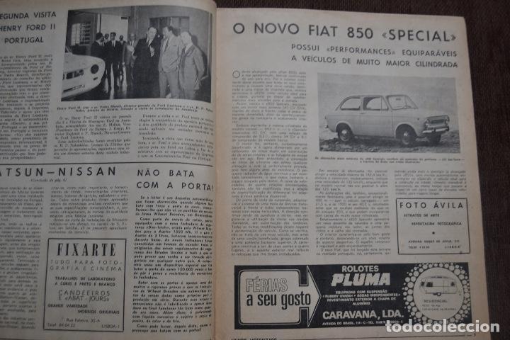 Coches y Motocicletas: 1968 Nº 263 REVISTA MUNDO MOTORIZADO - FIAT 850 SPECIAL - SALON AUTOMOVIL DE LONDRES - Foto 3 - 236391255