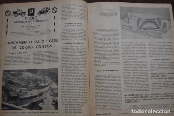 Coches y Motocicletas: 1968 Nº 263 REVISTA MUNDO MOTORIZADO - FIAT 850 SPECIAL - SALON AUTOMOVIL DE LONDRES - Foto 4 - 236391255