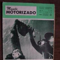 Coches y Motocicletas: 1968 Nº 262 REVISTA MUNDO MOTORIZADO - ROAD TEST ROVER 3500. Lote 236392790