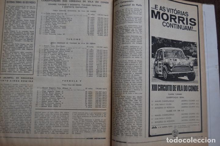 Coches y Motocicletas: 1968 Nº 262 REVISTA MUNDO MOTORIZADO - ROAD TEST ROVER 3500 - Foto 2 - 236392790