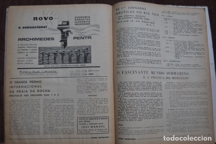 Coches y Motocicletas: 1968 Nº 262 REVISTA MUNDO MOTORIZADO - ROAD TEST ROVER 3500 - Foto 3 - 236392790