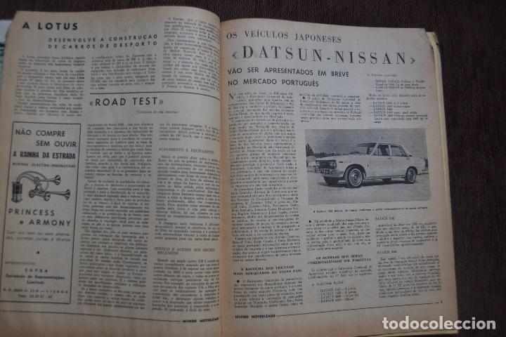 Coches y Motocicletas: 1968 Nº 262 REVISTA MUNDO MOTORIZADO - ROAD TEST ROVER 3500 - Foto 4 - 236392790