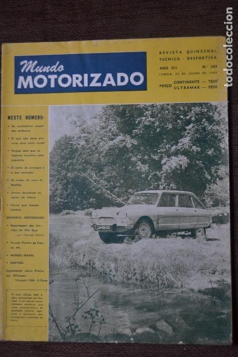 1971 Nº 336 REVISTA MUNDO MOTORIZADO - FIAT 128 RALLYE - RALI TAP (Coches y Motocicletas - Revistas de Motos y Motocicletas)