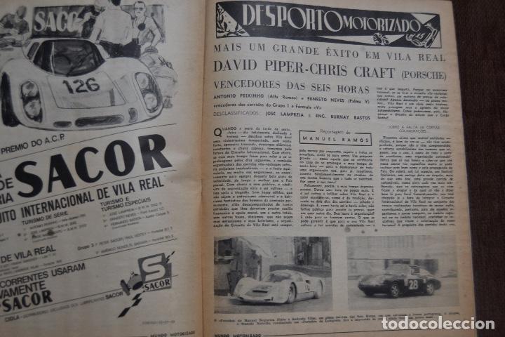 Coches y Motocicletas: 1971 Nº 336 REVISTA MUNDO MOTORIZADO - FIAT 128 RALLYE - RALI TAP - Foto 4 - 236393250