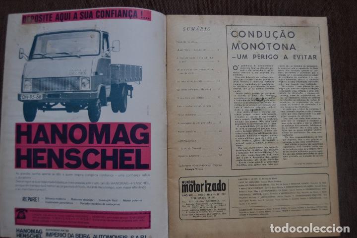 Coches y Motocicletas: 1971 Nº 322 REVISTA MUNDO MOTORIZADO - ROAD TEST CITROEN SM - Foto 2 - 236393595