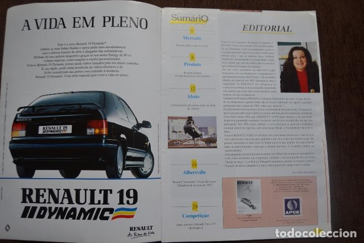 Coches y Motocicletas: 1992 REVISTA RENAULT INFORMACCIÓN - RENAULT SAFRANE - RENAULT TRAFIC - Foto 2 - 236394115