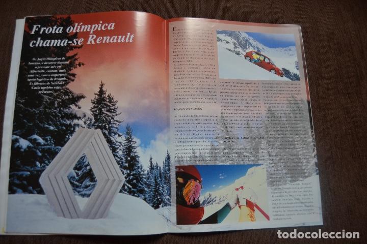 Coches y Motocicletas: 1992 REVISTA RENAULT INFORMACCIÓN - RENAULT SAFRANE - RENAULT TRAFIC - Foto 7 - 236394115
