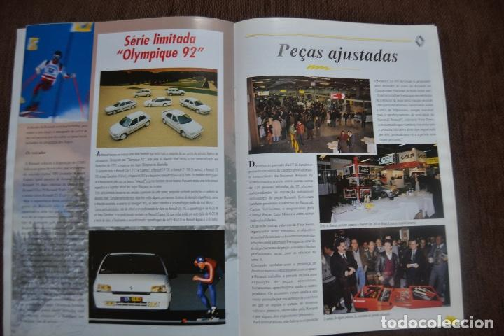 Coches y Motocicletas: 1992 REVISTA RENAULT INFORMACCIÓN - RENAULT SAFRANE - RENAULT TRAFIC - Foto 8 - 236394115