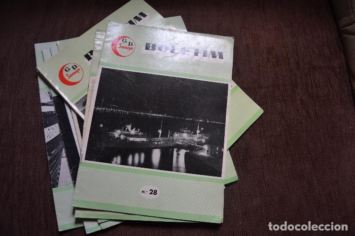 1958 - 1960 - 7 REVISTAS BELETIM SONAP - SOCIEDADE NACIONAL DE PETROLEOS RARO (Coches y Motocicletas - Revistas de Motos y Motocicletas)