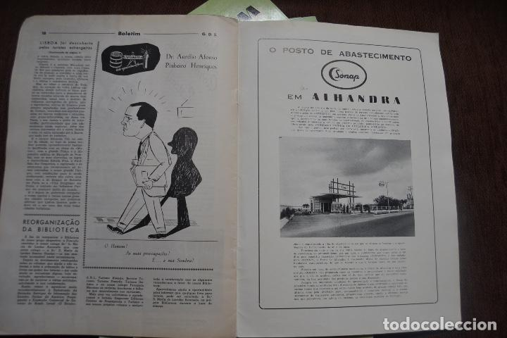 Coches y Motocicletas: 1958 - 1960 - 7 REVISTAS BELETIM SONAP - SOCIEDADE NACIONAL DE PETROLEOS RARO - Foto 3 - 236395705