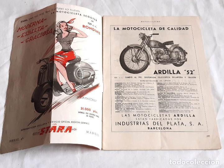 Coches y Motocicletas: Revista Motociclismo. Nº 19. Mayo 1952. Zundapp. Uniforme Escolta de Franco. - Foto 2 - 236433630