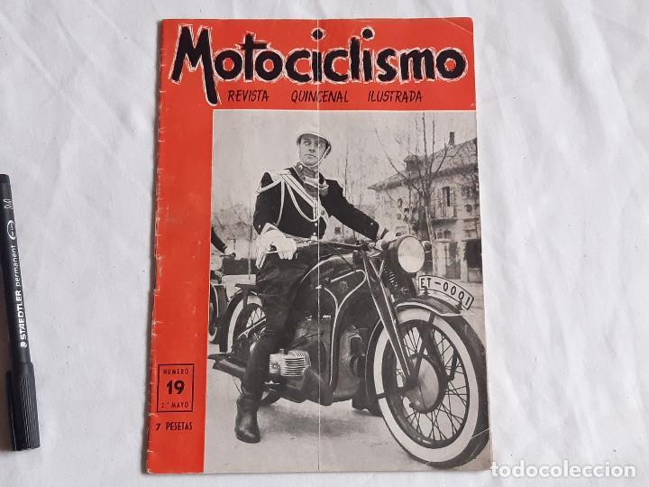 Coches y Motocicletas: Revista Motociclismo. Nº 19. Mayo 1952. Zundapp. Uniforme Escolta de Franco. - Foto 7 - 236433630