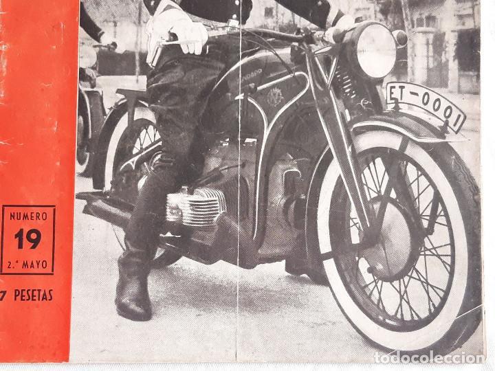 Coches y Motocicletas: Revista Motociclismo. Nº 19. Mayo 1952. Zundapp. Uniforme Escolta de Franco. - Foto 8 - 236433630