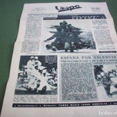 Coches y Motocicletas: PORTAVOZ DEL VESPA CLUB DE ESPAÑA - AÑO I Nº 5 NOVIEMBRE 1957. Lote 244600135