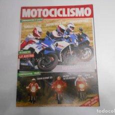 Coches y Motocicletas: REVISTA MOTOCICLISMO NUM 957 COMPARATIVA CAGIVA ELEFANT 125 GILERA RX 125 ARIZONA HONDA XL 125 PD. Lote 244871610