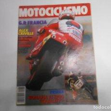 Coches y Motocicletas: REVISTA MOTOCICLISMO NUM 1066 PRUEBA YAMAHA FJ 1200 MORINI RESURGIR DE UNA MARCA. Lote 244884585