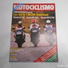 Coches y Motocicletas: REVISTA MOTOCICLISMO NUM 956 COMPARATIVA 750 YAMAHA HONDA SUZUKI -TOMA CONTACTO PUCH CONDOR III. Lote 244893620