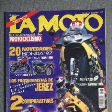 Coches y Motocicletas: LA MOTO Nº 86 AÑO 1997 BMW R 850 R. HONDA NX 650 DOMINATOR. SUZUKI TL 1000 S, HONDA VTR 1000 F. Lote 245240105