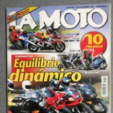 Coches y Motocicletas: LA MOTO Nº 104 1998. HONDA SHADOW 600. YAMAHA R6 Y HONDA CBR 600 F. SUZUKI GSX 750 F, YAMAHA FAZER. Lote 245241385