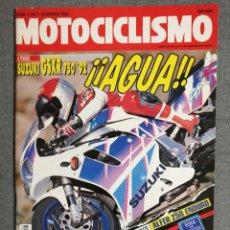 Coches y Motocicletas: MOTOCICLISMO Nº 1257 1992.SUZUKI GSR R 750. APRILIA 125 SPORT PRO. ALFER 250 ENDURO. GAMA BETA TRIAL. Lote 245247835