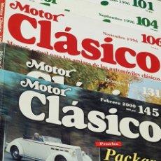 Coches y Motocicletas: REVISTA MOTOR CLÁSICO LOTE DE 5 NÚMEROS. Lote 245783815
