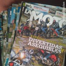 Coches y Motocicletas: LOTE 40 NÚMEROS LA MOTO AÑOS 2011,2014,2015,2016. Lote 245926045