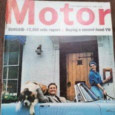 Coches y Motocicletas: 1964 REVISTA MOTOR - ROAD TEST FIAT 500. Lote 246238890