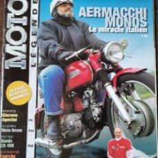 Carros e motociclos: 2000 REVISTA MOTO LEGENDE - KAWASAKI Z1 300-6 - BMW R90 S - HONDA CB 400 - GIACOMO AGOSTINI. Lote 246319775
