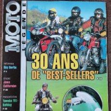 Carros e motociclos: 2002 REVISTA MOTO LEGENDE - JAWA CALIFORNIAN - YAMAHA TR1 BULLGOG - 500 GUZZI V8. Lote 246320660