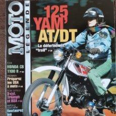 Carros e motociclos: 2002 REVISTA MOTO LEGENDE - 125 YAMAHA AT Y DT - 500 GUZZI USINE - 3 CYL TRIUMPH Y BSA. Lote 246320945