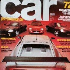 Coches y Motocicletas: 1999 REVISTA CAR - LOTUS ESPRIT 350 - RENAUL CLIO V6 - PEUGEOT 306 RALLYE - PORSCHE CARRERA 4. Lote 246496790