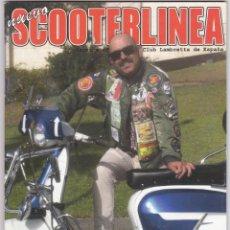 Coches y Motocicletas: SCOOTERLINEA - REVISTA DEL CLUB LAMBRETTA DE ESPAÑA - Nº 84 - OCT - DIC. 2016. Lote 246527495