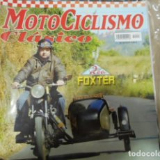 Coches y Motocicletas: REVISTA MOTOCICLISMO CLÁSICO Nº45 - ROA FOXTER - SOLIDEZ SUECA, PRESICIÓN SUIZA:HUSQVARNA 145. Lote 239795130