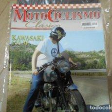 Coches y Motocicletas: REVISTA MOTOCICLISMO CLÁSICO Nº49 - KAWASAKI 650 W - DERBI 98 SCOOTER - HOMENAJE AMS - BON`AVION 250. Lote 239796060